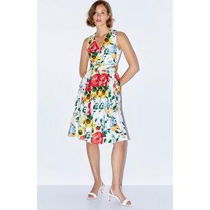 NWT! Zara Flora Print Dress - Size Small